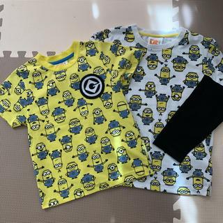 ミニオン(ミニオン)のミニオン ロンT 130 半袖Tシャツ 120(Tシャツ/カットソー)