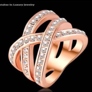 新品デザインリング♡サイズ15(リング(指輪))