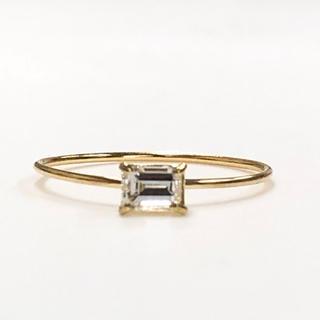 K18 バケットダイヤモンドリング(リング(指輪))