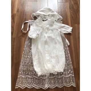 ニシマツヤ(西松屋)のセレモニードレス 50〜60size 年中素材(お宮参り用品)