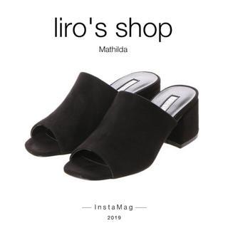 イーボル(EVOL)のEVOL♡ 【Mathilda】オープントゥミュールサボサンダル(サンダル)