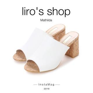 イーボル(EVOL)のEVOL♡ 【Mathilda】ミュールサボサンダル(サンダル)