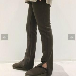 アパルトモンドゥーズィエムクラス(L'Appartement DEUXIEME CLASSE)の新品★アパルトモン★Wool Zip Leggings(レギンス/スパッツ)