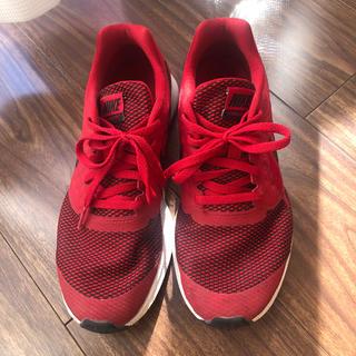 ナイキ(NIKE)のナイキ NIKE スニーカー  赤 24 シューズ運動靴(スニーカー)
