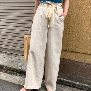 カスタネ(Kastane)のkastane リネンリメイク風パンツ(その他)