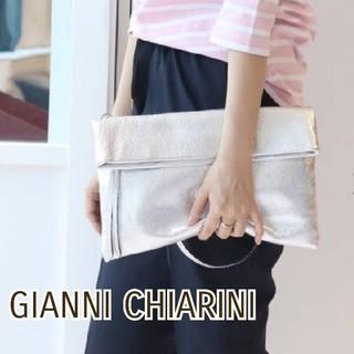 ドゥーズィエムクラス(DEUXIEME CLASSE)の美品⭐GIANNI CHIARINI ジャンニキャリーニ 2wayバッグ (ハンドバッグ)