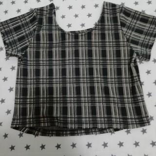 カスタネ(Kastane)のカスタネ チェックチビT  kastane (Tシャツ(半袖/袖なし))
