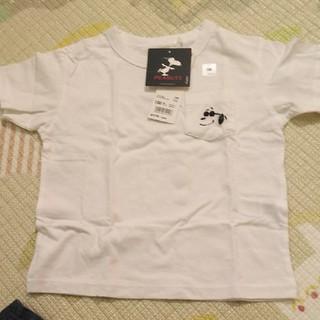 スヌーピー(SNOOPY)のUNIQLO スヌーピーサーフ 新品100(Tシャツ/カットソー)