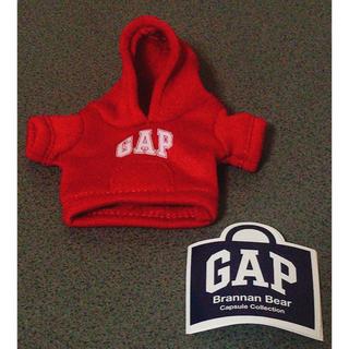 ギャップ(GAP)のGAP ガチャガチャ 赤 パーカー  ブラナンベア(キャラクターグッズ)