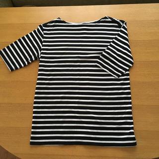 ヤエカ(YAECA)のCharpentier de Vaisseau  ボーダー カットソー(Tシャツ(半袖/袖なし))