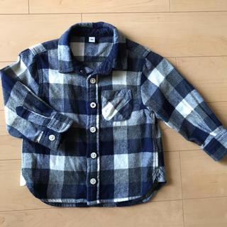 ムジルシリョウヒン(MUJI (無印良品))の無印良品 チェックシャツ 80❤︎(シャツ/カットソー)