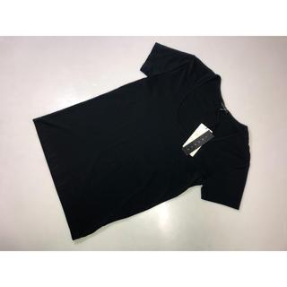 セオリー(theory)の20◆セオリー◆半袖カットソー Tシャツ黒系2号9号38号Mサイズ11030(Tシャツ(半袖/袖なし))