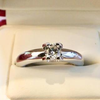 カルティエ(Cartier)のCartier カルティエ リング ソリテールCドゥ ダイヤ リング(リング(指輪))