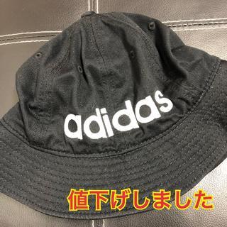 adidas - 【値下げ】adidas アディダス バケットハット ブラック