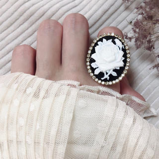 rose cameo ring(リング)