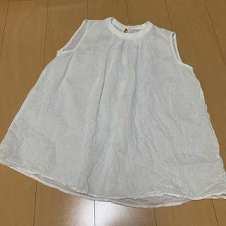 ムジルシリョウヒン(MUJI (無印良品))の無印良品 ブラウス 袖なし (シャツ/ブラウス(半袖/袖なし))