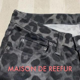メゾンドリーファー(Maison de Reefur)のメゾンドリーファー☆レオパード柄パンツ 24(カジュアルパンツ)