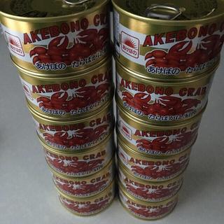 あけぼの たらばがに 肩肉 12缶 マルハニチロ(缶詰/瓶詰)