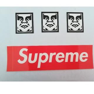 Supreme - オベイ シュプリーム ステッカー 4枚セット OBEY Supreme