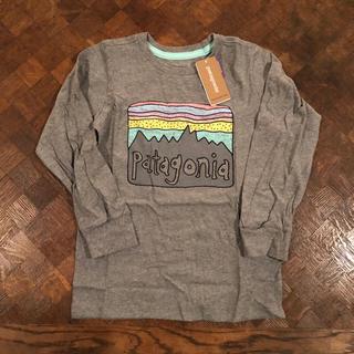 パタゴニア(patagonia)の新品 パタゴニア キッズ ロンT 3T ベビー ガールズ ボーイズ(Tシャツ/カットソー)