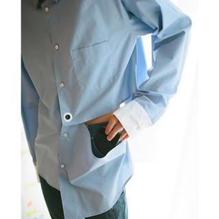ジョンローレンスサリバン(JOHN LAWRENCE SULLIVAN)のkudos 18aw triangle window shirt(シャツ)