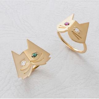 エテ(ete)のnana様専用   美品 付属品あり ete NECO-CHAN リング 指輪(リング(指輪))