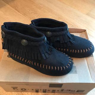 アンパサンド(ampersand)のF.O.インターナショナル ショートブーツ 黒 16cm(ブーツ)