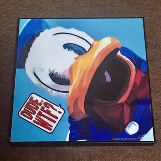 ディズニー(Disney)のドナルド 絵画 額縁 タペストリー(絵画/タペストリー)