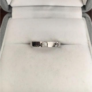 ブルガリ(BVLGARI)のブルガリ 1p ダイヤモンド マリーミー リング Pt950 5.2g(リング(指輪))