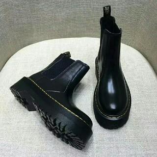 ドクターマーチン(Dr.Martens)のDr. Martens ドクターマーチン 厚底ブーツ 黒 UK3(ブーツ)