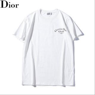 ディオール(Dior)の男女兼用DIOR二枚Lサイズ!二枚8割引で500円値引き(Tシャツ/カットソー(半袖/袖なし))