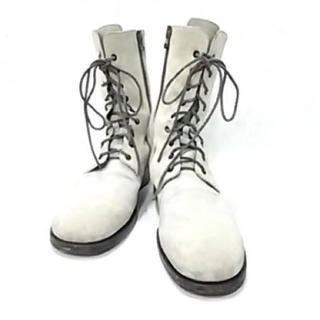 ブッテロ(BUTTERO)の■美品■ブッテロ BUTTERO ブーツ 42 スエード ベージュ 28cm(ブーツ)