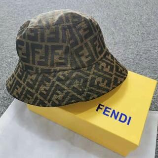 フェンディ(FENDI)のFENDI フェンディ 帽子 漁師帽 キャップ(キャップ)