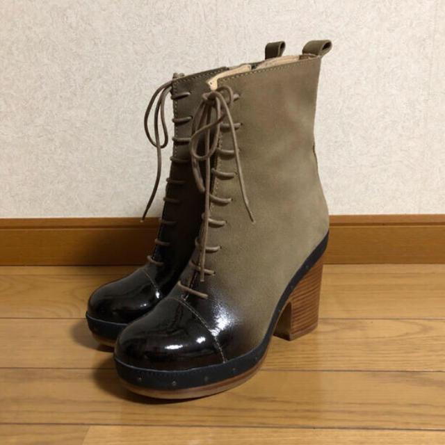 ACNE(アクネ)のACNE レースアップショートブーツ レディースの靴/シューズ(ブーツ)の商品写真