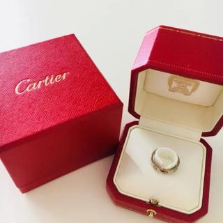 カルティエ(Cartier)のカルティエ ホワイトゴールド ミニラブリング (リング(指輪))