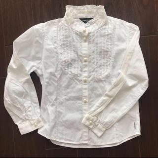 コムサイズム(COMME CA ISM)のホワイトシャツ(ブラウス)