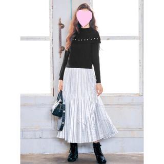 チェスティ(Chesty)のChesty ロングプリーツスカート 0サイズ(ロングスカート)