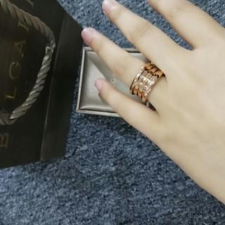 ブルガリ(BVLGARI)の美品Bvlgariブルガリ 大人気 リング 指輪 めちゃめちゃ可愛い (リング(指輪))