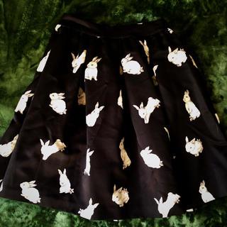 フランシュリッペ(franche lippee)のフランシュリッペ うさぎスカート(ひざ丈スカート)