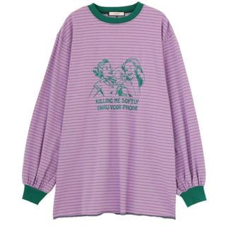 ジュエティ(jouetie)のジュエティ  50sカラートリムtee(Tシャツ(長袖/七分))