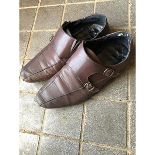 ★激安★超軽量 ビジネスシューズ 革靴 ブラウン 茶色 レザー メンズ 28.0(ドレス/ビジネス)