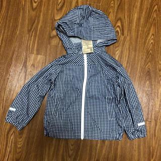 ムジルシリョウヒン(MUJI (無印良品))の無印のフード付きブルゾン(ジャケット/上着)
