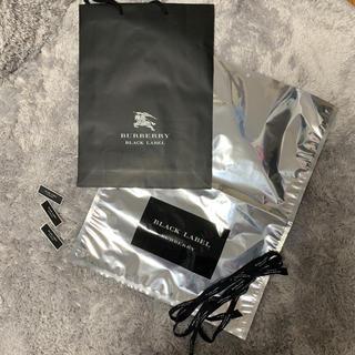 バーバリーブラックレーベル(BURBERRY BLACK LABEL)のバーバリーブラックレーベル ギフト(ショップ袋)