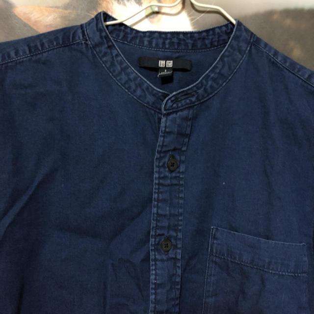 UNIQLO(ユニクロ)のユニクロデニムシャツ メンズのトップス(シャツ)の商品写真