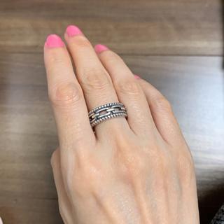 ザラ(ZARA)のインポート シルバー925 デザインリング(リング(指輪))