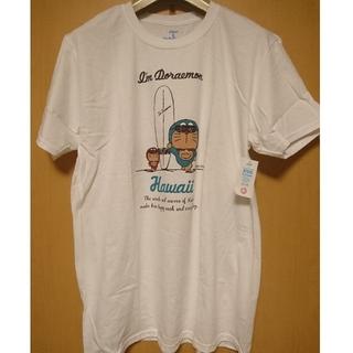 サンリオ(サンリオ)の【ハワイ限定】日焼けドラえもん Tシャツ Lサイズ B(Tシャツ/カットソー(半袖/袖なし))