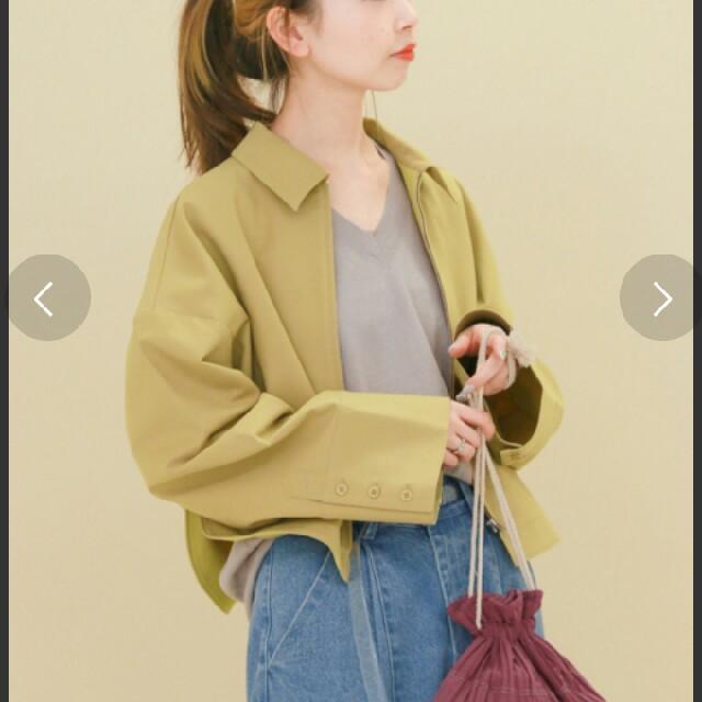 KBF(ケービーエフ)の《美品》KBF☆ワイドスリーブスウィングトップジャケット レディースのジャケット/アウター(ミリタリージャケット)の商品写真