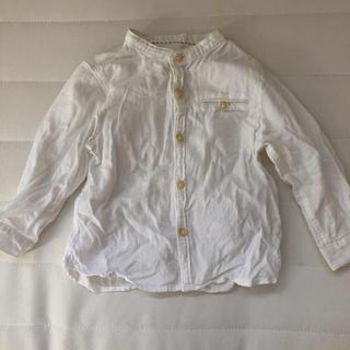 ザラキッズ(ZARA KIDS)のzarababy 長袖シャツ 9-12m 80㎝(シャツ/カットソー)