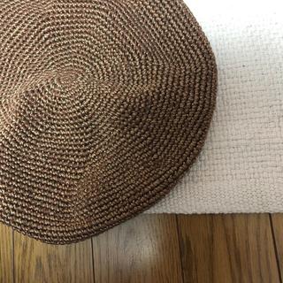 ジョンリンクス(jonnlynx)のフミカウチダ ベレー帽 (ハンチング/ベレー帽)