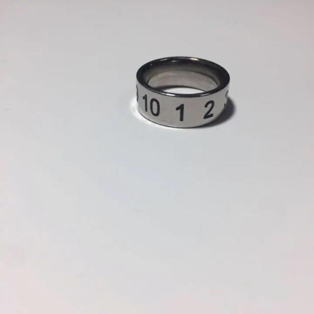 ナンバリング  指輪 メンズのアクセサリー(リング(指輪))の商品写真